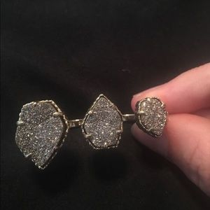 Kendra Scott double finger 'Naomi' ring